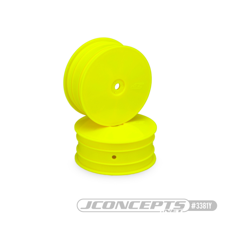JConcepts Mono - B64 - front wheel (Yellow) (4) (Fits B64)