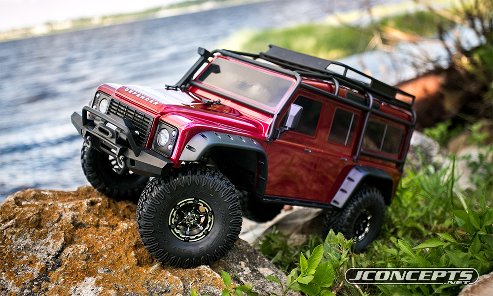 "JConcepts Torch - 1.9"" Traxxas TRX-4 aluminum beadlock wheel set"