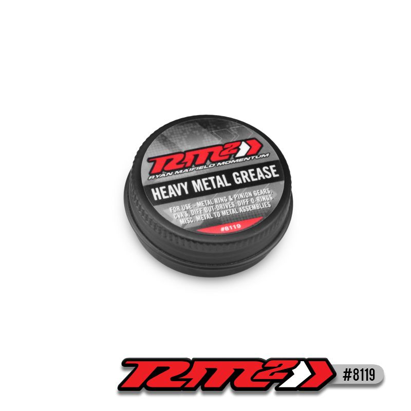 JConcepts RM2, heavy-metal grease