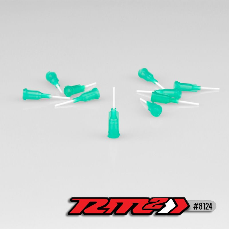 JConcepts - Glue tip needles, medium bore - Green (10)