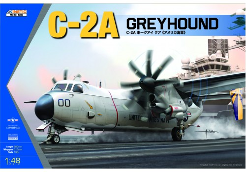 Kinetic 1/48 C-2A Greyhound