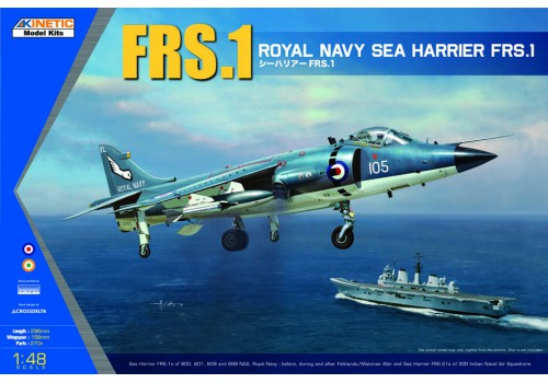 Kinetic 1/48 Royal Navy Sea Harrier FRS.1