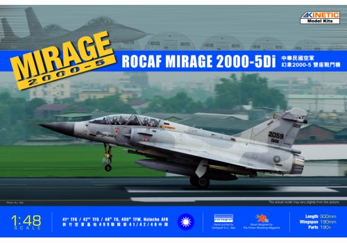 Kinetic 1/48 ROCAF MIrage 2000-5Di