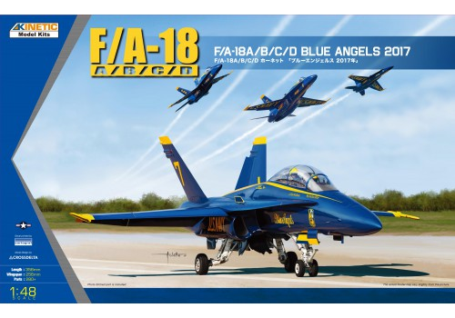 Kinetic 1/48 USN BLUE ANGLE 2017 F/A-18A/B/C/D