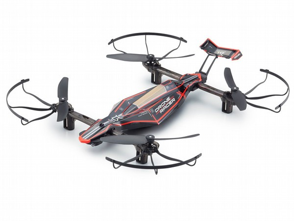 Kyosho G-Zero 1/18 Drone Racer ReadySet - Dynamic Force Black