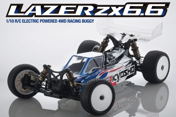 Kyosho Lazer ZX-6.6 1/10 4WD Electric Buggy Kit