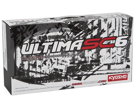 Kyosho Ultima SC6 Competition 1/10 Scale Electric 2WD SC