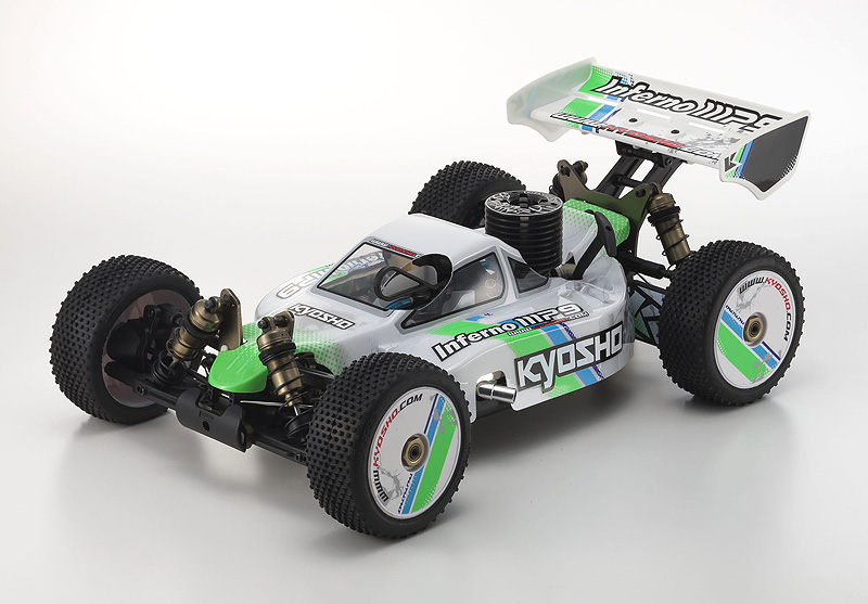 Kyosho 1/8 GP 4WD r/s INFERNO MP9 TKI3 T 1 WHITE (w/KT-331P)