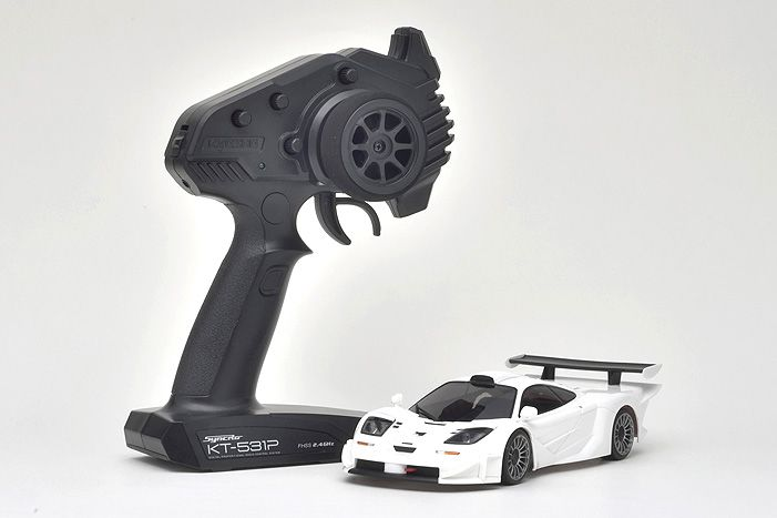 Kyosho MINI-Z RWD McLaren F1 GTR White MINI-Z RWD MR-03 RS