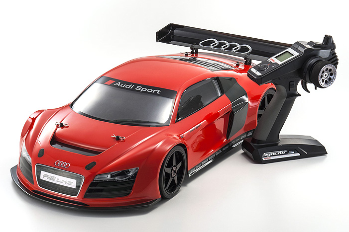 Kyosho Inferno GT2 VE Audi R8 Race Spec 1/8 GP Readyset
