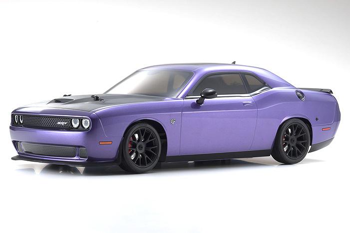 Kyosho Fazer Mk2 Dodge HELLCAT Purple Challenger SRT2015 1/10 EP - Click Image to Close