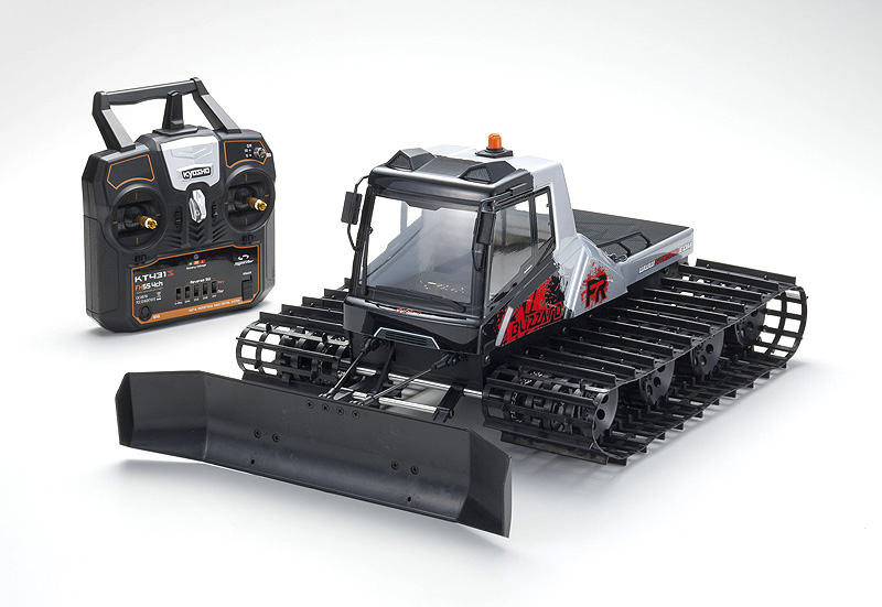 Kyosho Blizzard FR 1/12 Scale ReadySet All Terrain Belt Vehicle - Click Image to Close