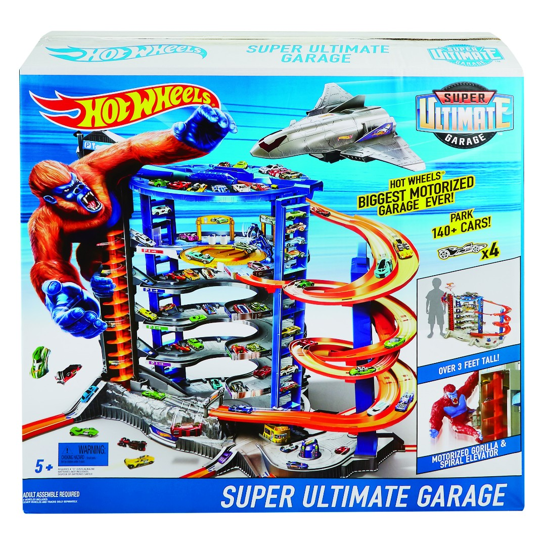 Hot Wheels Super Ultimate Garage Play Set (1 Pkg/Box)