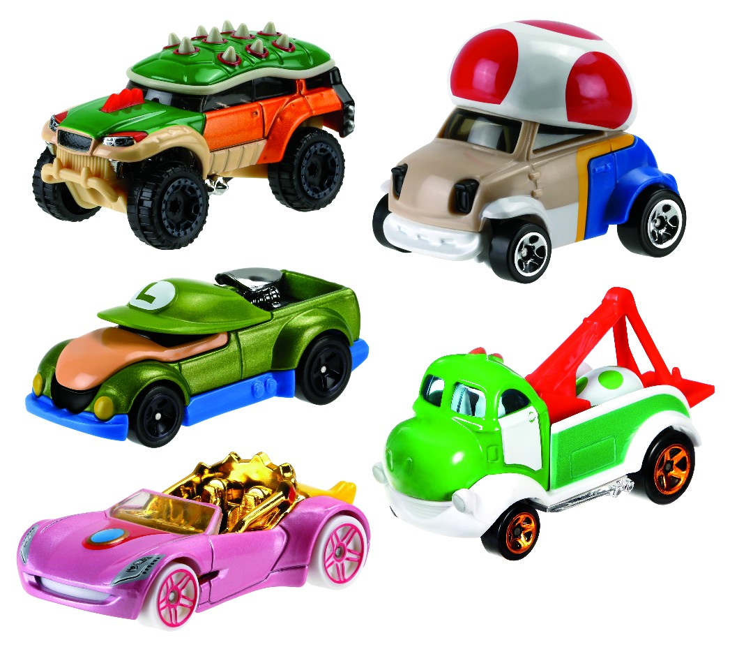 Hot Wheels Mario Kart Assortment (8 Pkg/Box)