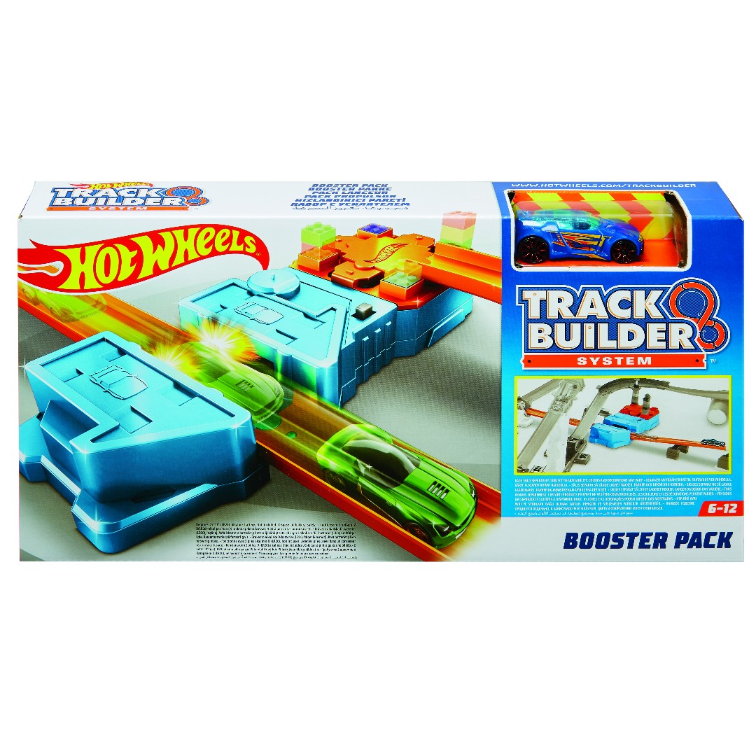 Hot Wheels Track Builder Booster Pack Play Set (1)