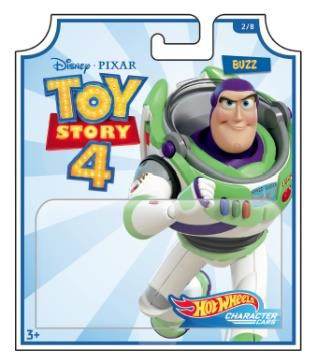 Hot Wheels Toy Story Assortment (8 Pkg/Box)