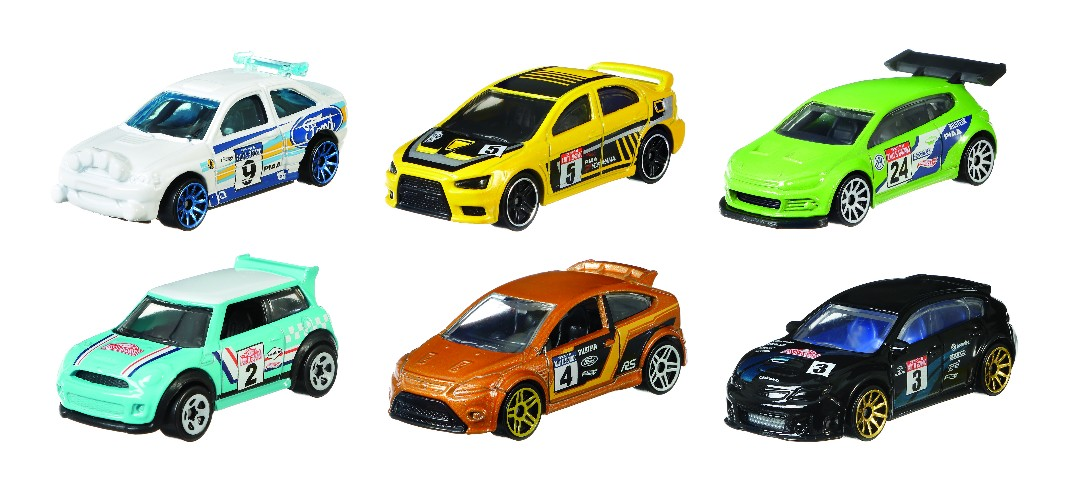 Hot Wheels Themed Automotive Assortment (10 Pkg/Box)