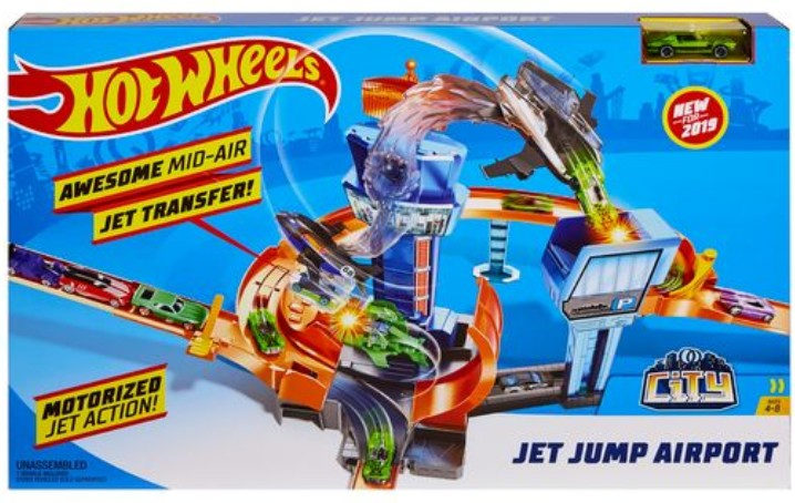 Hot Wheels Motorized ECL Set (4 Pkg/Box)
