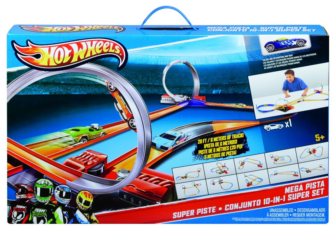 Hot Wheels 10 in 1 Track Set (1)