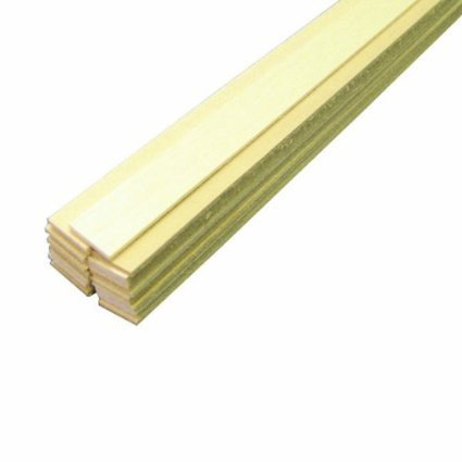 "Midwest Basswood Strip 1/16 x 1/2 x 24"" (24)"