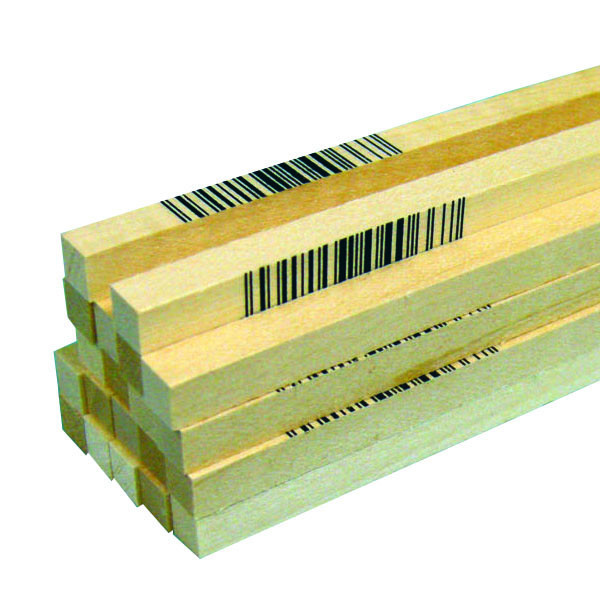 "Midwest Basswood Strip 1/4 x 1/4 x 24"" (20)"