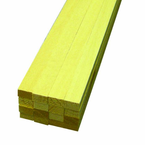 "Midwest Basswood Strip 1/4 x 3/8 x 24"" (16)"