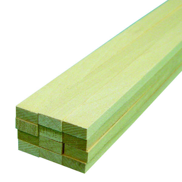 "Midwest Basswood Strip 1/4 x 1/2 x 24"" (12)"