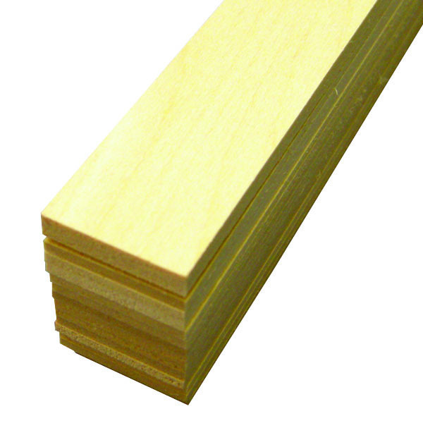 "Midwest Basswood Strip 1/8 x 1 x 24"" (15)"