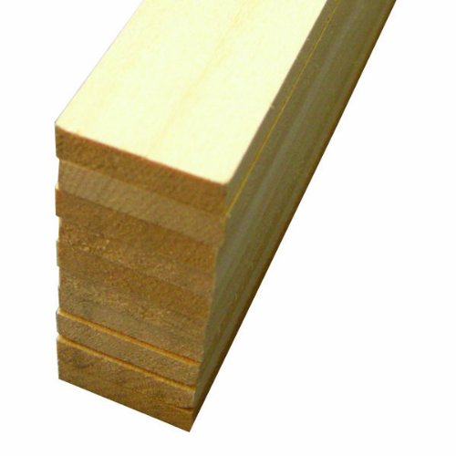 "Midwest Basswood Strip 1/4 x 1 x 24"" (10)"