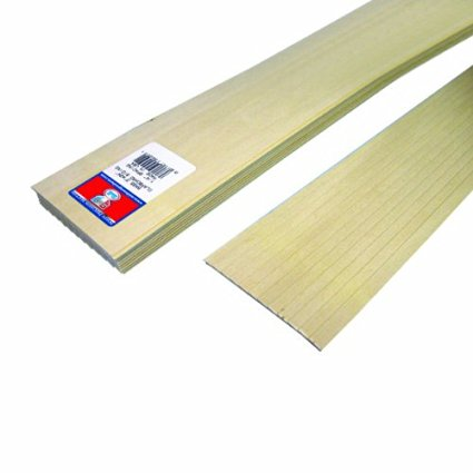 Midwest Basswood 1/4 Clapboard (10)