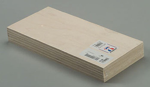"Midwest Wood Plywood 1/4 x 6 x 12"" (6)"