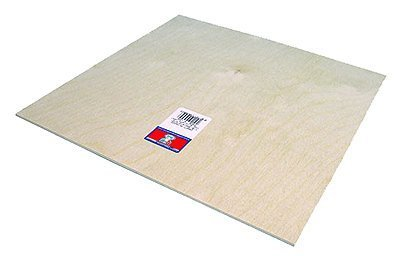 "Midwest Craft Plywood 3/8 x 4 x 12"" (3)"