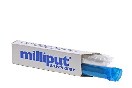 Milliput Silver Grey Two Part Epoxy Putty (10)