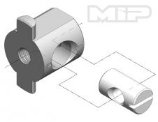 MIP Machined T-Nut, .250 Bore