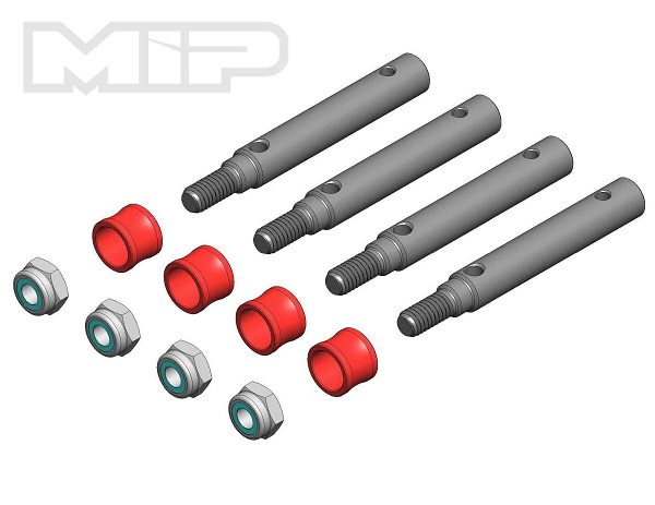 MIP Wide Track Kit, 4mm Offset, Traxxas TRX-4 Defender