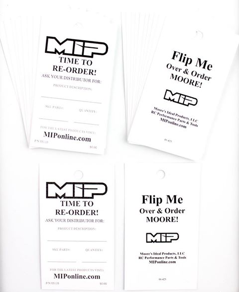 MIP Dealer Re-Order Tags (20)