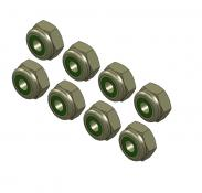 MIP Nut / 4-40 Steel Nyloc (8)