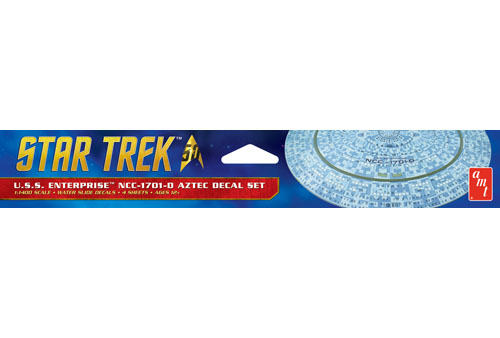 Star Trek U.S.S. Enterprise 1701-D Aztec Decals (Upgrades to kit
