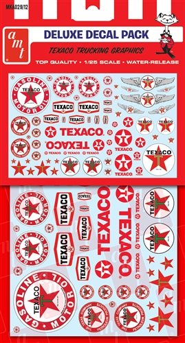 Texaco/Standard/Chevron Trucking Decals (Use with almost any 1/2