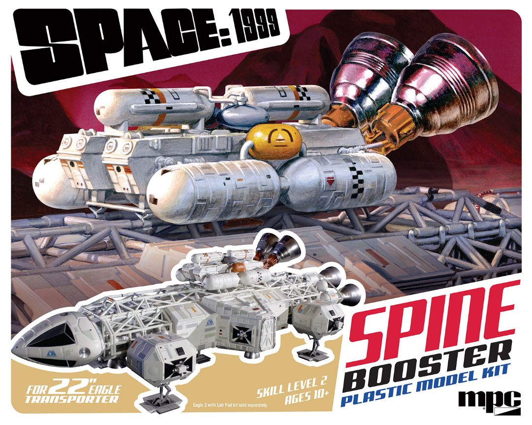 "MKA 1/48 Space:1999 22"" Booster Pack Accessory Set"