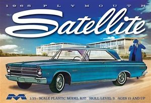 Moebius 1965 Plymouth Satellite 1/25 Model Kit