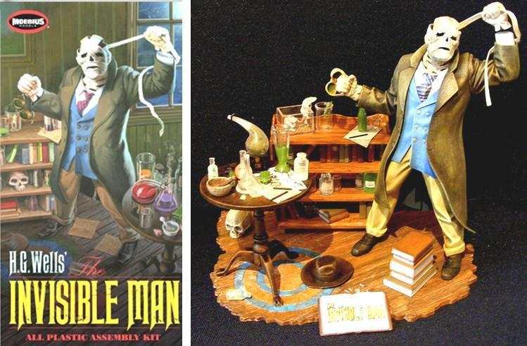 Moebius Invisible Man 1/8 Model Kit