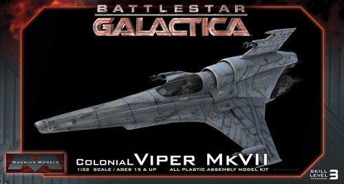 Moebius Viper Mk VII Model Kit