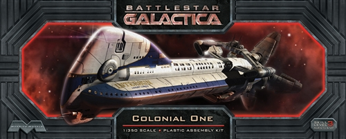 Moebius Battle Star Galactica Colonial One Model Kit