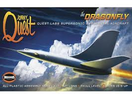 Moebius Jonny Quest Dragonfly Model Kit