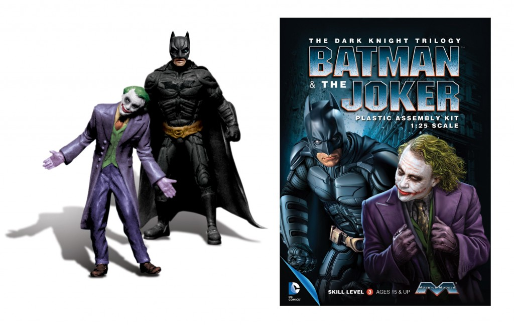Plastic Batman/Joker 1/25 2N1