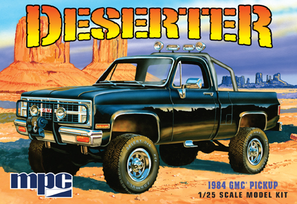 MPC 1984 GMC Deserter Pickup 1/25 Model Kit (Level 2)