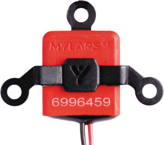 "MYLAPS ""2 Wire"" Personal RC4 Hybrid Direct Powered Transponder"
