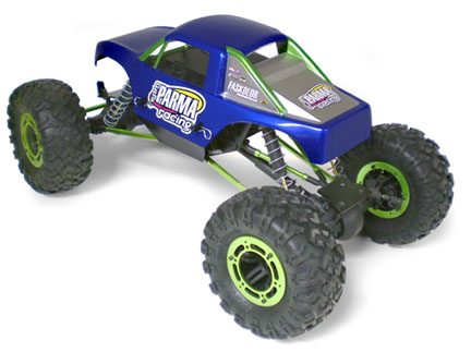 Parma PSE 1/10 X-citer Comp Crawler Clear Body
