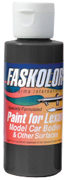 Parma PSE FasBlack Faskolor Lexan Body Paint (2oz)